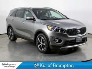 2018 Kia Sorento EX PLUS. 7 PASS. LEATHER. ROOF. CAMERA. NON REN