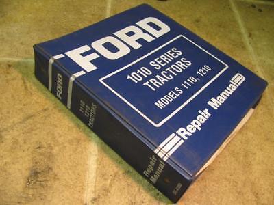 Ford 1010 Series 1110 1210 Tractor Service Repair Manual