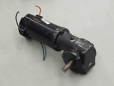 190 Leeson Gearmotor Cm24d25nz1c M1115018.00 90v 117hp 601 Ratio 24 Fr Typ Dn