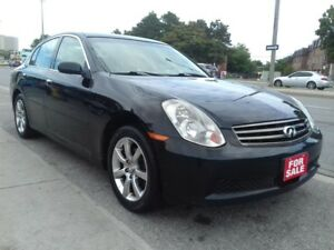 2005 Infiniti G35X Luxury - ALL WHEEL DRIVE-EXTRA CLEAN -FULLY L