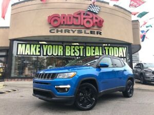 2018 Jeep Compass Altitude NAVI H-TED SEAT REAR CAM BLK WHEELS
