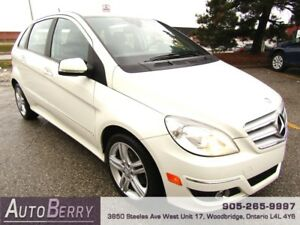 2010 Mercedes-Benz B-Class B200 **CERTIFIED ACCIDENT FREE**