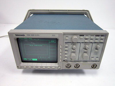 Tektronix Tds320 Digital Oscilloscope 100mhz 2-ch 500 Ms S Tds 320