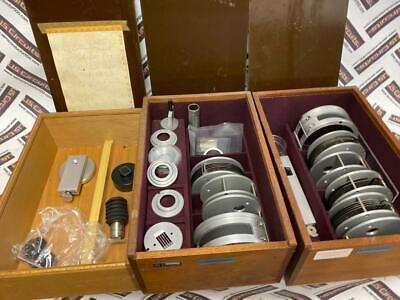 3 Huber Powder Camera Insert 624-114 624-146 X-ray Diffraction Kits