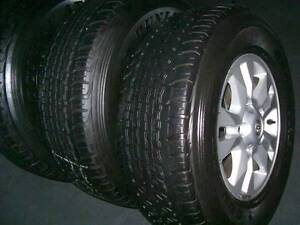 TOYOTA LANDCRUISER 200 WHEELS GENUINE TOYOTA FACTORY GXL ETC Sutherland Sutherland Area Preview
