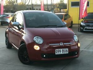 2012 Fiat 500 Series 1 Red 5 Speed Manual Hatchback South Toowoomba Toowoomba City Preview