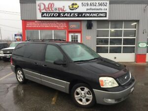 2004 Ford Freestar SEL DVD + DUAL POWER SLIDING DOORS