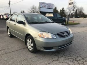 2004 Toyota Corolla CE Great condition Must See!!!