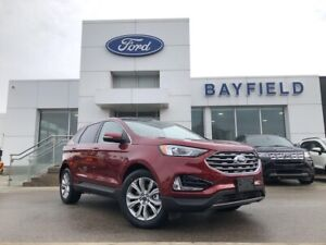 2019 Ford Edge Titanium HEATED SEATS|REMOTE START|SUNROOF|REV...