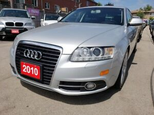 2010 Audi A6 Low KMs/S-Line/AWD/Bk-Up Camera/Leather/Roof