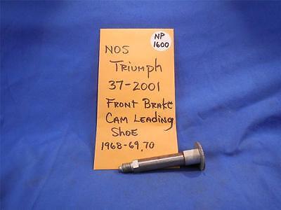 TRIUMPH 37 2001 FRONT BRAKE CAM LEADING SHOE 1968 89 NOS  NP1600