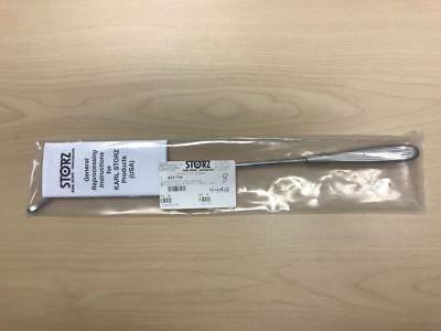 40175k Karl Storz Curette For Pleura Abrasion Distally Angled Sheathlength 28cm
