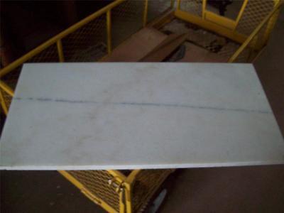 White Marble Slab 31 12 X 15 34 X 34 Antivibration Furniture Restaurant
