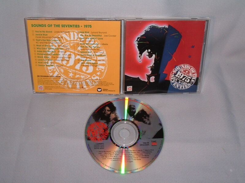 Cd Va Time-life Sounds Of The Seventies: 1975 Mint