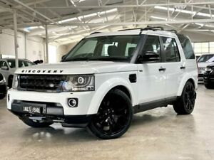 2014 Land Rover Discovery Series 4 L319 MY15 TDV6 White 8 Speed Sports Automatic Wagon Moorabbin Kingston Area Preview