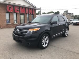 2014 Ford Explorer Limited 4x4 Navi Roof 6 Month Powertrain Warr