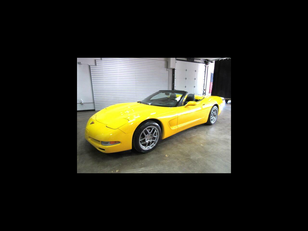 2000 Yellow Chevrolet Corvette Convertible  | C5 Corvette Photo 1