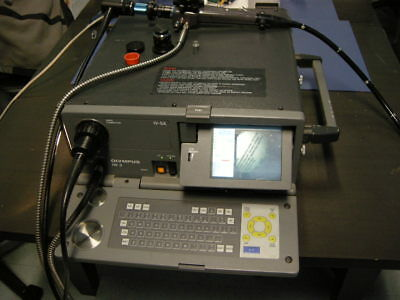 Olympus Iw-2 Industrial Video Analyzer Kit W Osf-2 Borescope Attachments Case