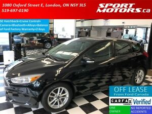 2016 Ford Focus SE Hatchback+Camera+Bluetooth+Cruise+Alloys