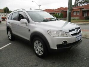 2009 Holden Captiva CG MY09.5 LX AWD Silver 5 Speed Sports Automatic Wagon West Perth Perth City Area Preview