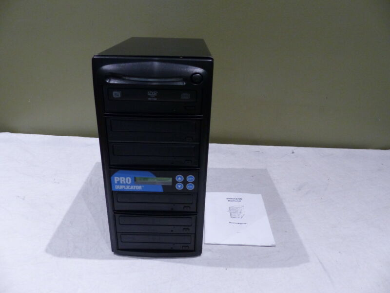 PRO DUPLICATOR 1:5 TRAY DVD/CD DUPLICATOR