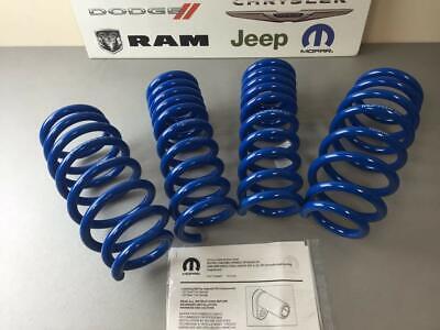 Mopar Performance Lowering Springs Kit for Dodge Challenger 08-19 P5155436