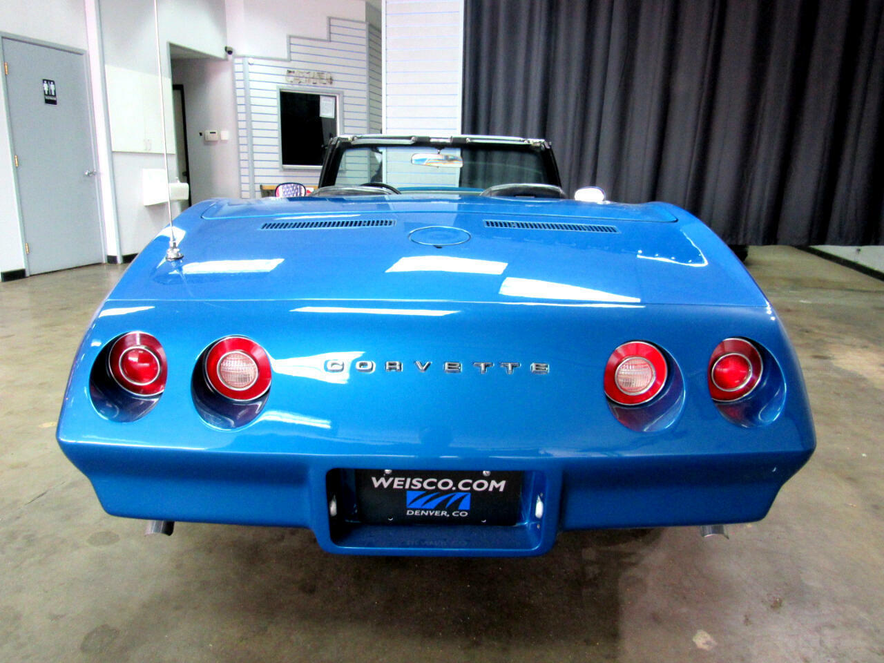 1974 Blue Chevrolet Corvette Convertible  | C3 Corvette Photo 7