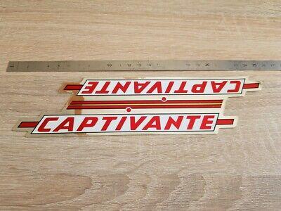 ++ autocollant sticker CAPTIVANTE vélo cyclisme vintage ++