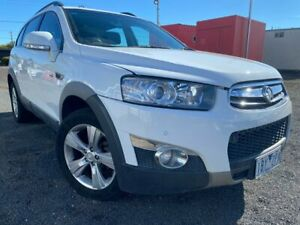 2011 Holden Captiva CG Series II 7 CX (4x4) White 6 Speed Automatic Wagon Hoppers Crossing Wyndham Area Preview