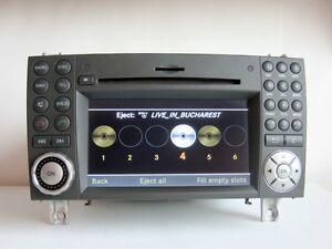 Mercedes-SLK-Class-W171-R171-Comand-APS-NTG2-5-sat-nav-6-DVD-CHANGER-navigation