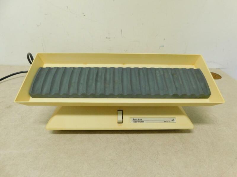 American Dade Test Tube Rocker R4185-10 w/ Rubber Tube Holder