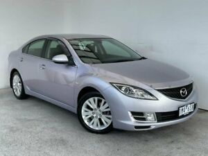 2009 Mazda 6 GH1051 MY09 Classic Silver 6 Speed Manual Sedan Mount Gambier Grant Area Preview