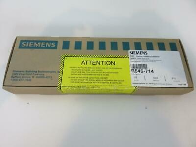 New Sealed Siemens Modular Building Controller R545-714 Repaired Power Module V2