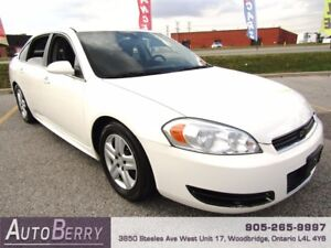 2009 Chevrolet Impala LS *** CERTIFIED *** LOW KM $5,299