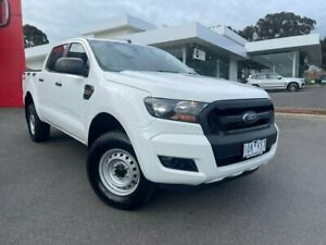 2016 Ford Ranger PX MkII XL Cool White 6 Speed Manual Utility Traralgon Latrobe Valley Preview