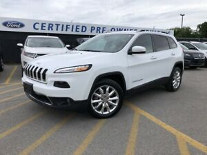 2017 Jeep Cherokee Limited ALL-NEW BRAKES|KEYLESS ENTRY|REMOT...