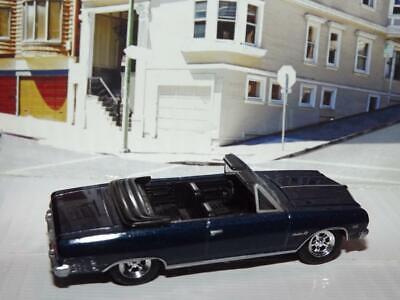 2002 1965 CONVERTIBLE CHEVROLET CHEVELLE MALIBU SS V-8 DIE CAST MUSCLE CAR! 1965 Chevelle Malibu Convertible