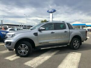 2020 Ford Ranger PX MkIII 2020.25MY Wildtrak Silver 10 Speed Sports Automatic Double Cab Pick Up Kilmore Mitchell Area Preview