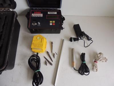 Thomas Instruments Vms2000 Blast Monitoring Seismograph Vibration Monitor