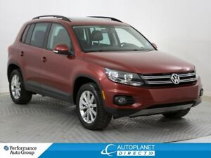 2015 Volkswagen Tiguan AWD, Highline, Navi, Back Up Cam, Pano Ro