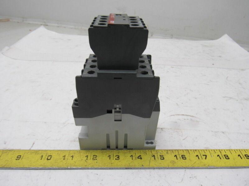ABB AL26-40-00 Contactor Relay Motor Starter 24V Coil W/CA5-31M Aux Contacts