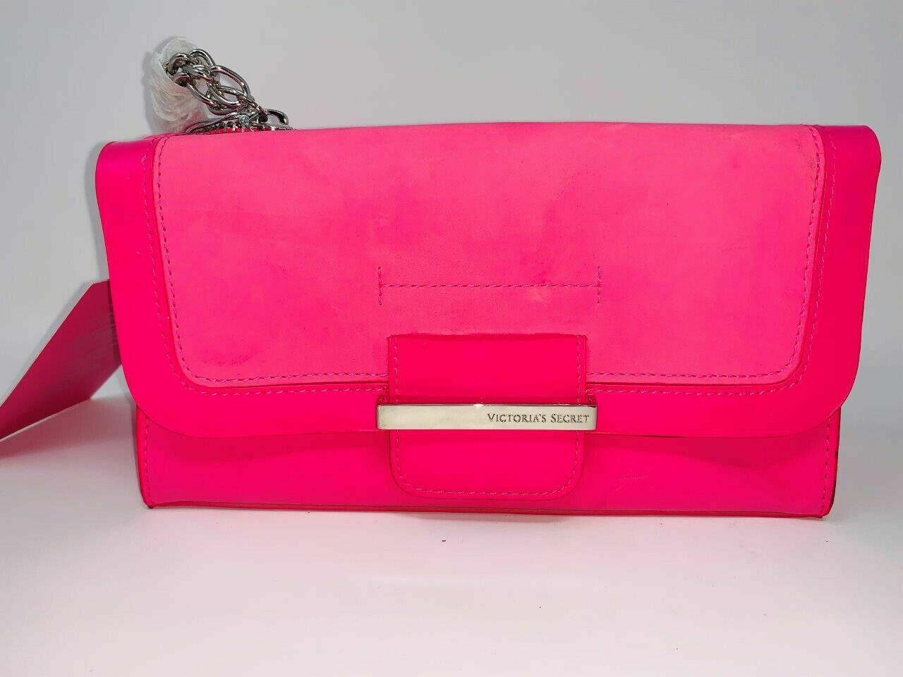 New Victoria secret Pink Bombshell Cosmetic bag  clutch  mak