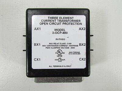 Instruments Transformers 3-ocp-400 Three Element Current Transformer