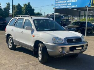 2001 HYUNDAI SANTA FE GLS AUTO 4X4 SUV PETROL 3 MONTHS REGO ALL POWER OPTIONS TOW BAR SPOT LIGHT ALL Lansvale Liverpool Area Preview