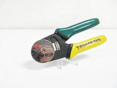 Trompeter 010-0098 Hand Crimper Tool Coaxial Rf - Bnc
