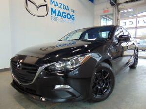 2014 Mazda Mazda3 GS-SKY ENSEMBLE NOIR 71 000KM CAMERA DE RECUL