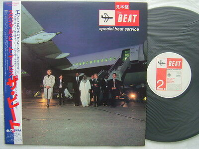 Promo Label   The Beat Special Beat Service   Un Played With Obi