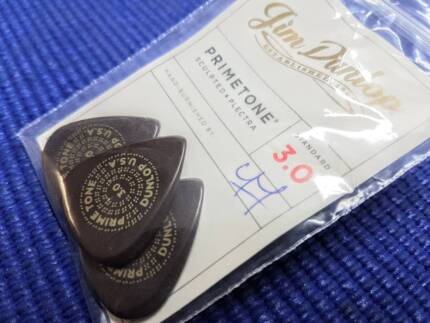 Jim Dunlop Primetone 3mm picks - 3 pack
