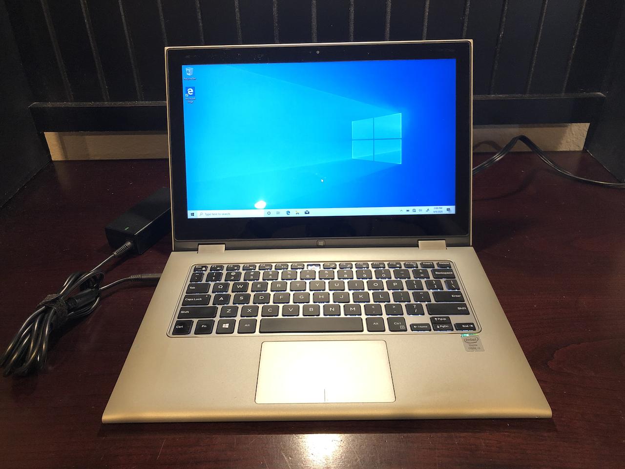 Laptop Windows - Dell Inspiron 7348 2-in-1 8GB RAM 250GB SSD 13.3 Touchscreen Windows 10 **READ**