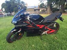 Megelli 250R 2012 Motorcycle 5000km 1 year register RWC+helmet Brunswick Moreland Area Preview